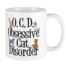 Funny Cat Small Mug