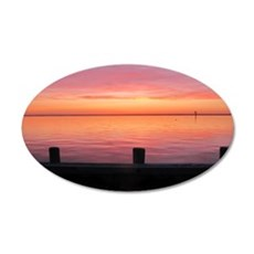 Serenity Sunset over LBI Wall Decal