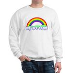 My Life Sucks Rainbow Sweatshirt