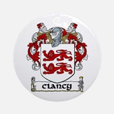 Clancy Coat of Arms Ornament (Round)