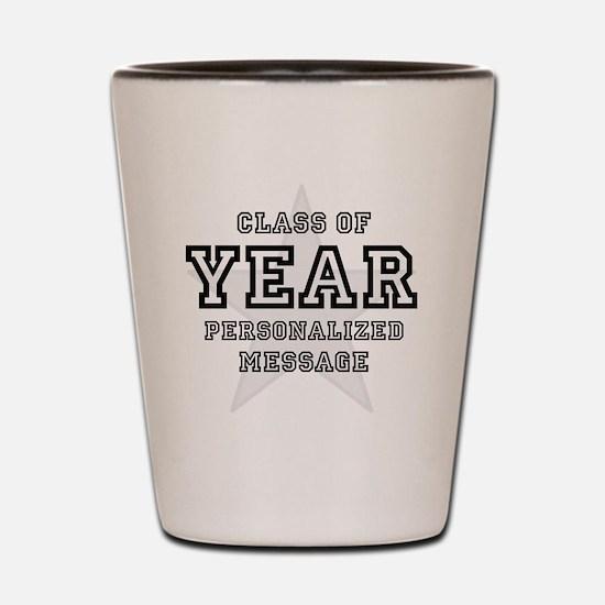 Personalized Graduation Original Shot Glass