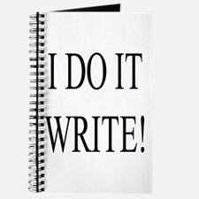 Writing Journal for Writers - I do It Write!
