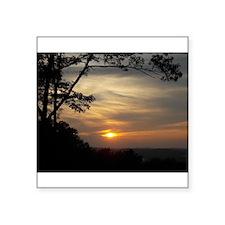 Mohawk Sunset Sticker