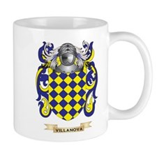 Villanova Family Crest (Coat of Arms) Mugs