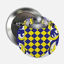 "Villanova Family Crest (Coat of Arms) 2.25"" Button"