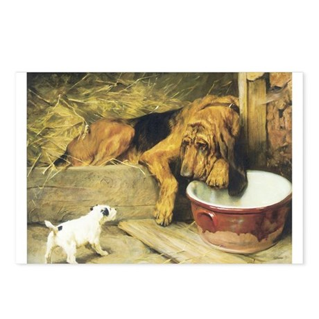 Bloodhound Postcards (Package of 8)