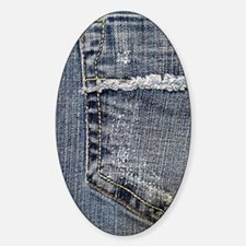 Tattered Jeans Pocket Decal