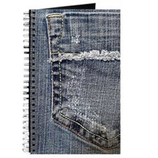 Tattered Jeans Pocket Journal