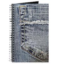 Tattered Jeans Pocket Journal