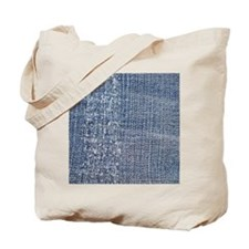 Worn-out Denim Jeans Tote Bag