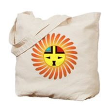 Sunface - Tawa Kachina Tote Bag