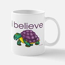 I believe in turtles Mug