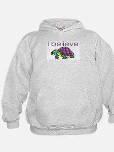 I believe in turtles Hoodie