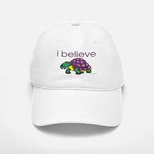 I believe in turtles Baseball Baseball Cap
