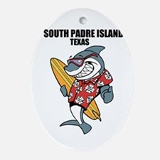 South Padre Island, Texas Ornament (Oval)