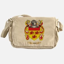Vis Family Crest (Coat of Arms) Messenger Bag