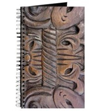 Brown Carved Deco Journal