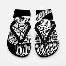 Polynesian Mahi Flip Flops