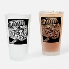 Polynesian Mahi Drinking Glass