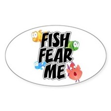 Fish Fear Me Decal