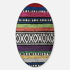 Tribal Native Print Sticker (Oval)