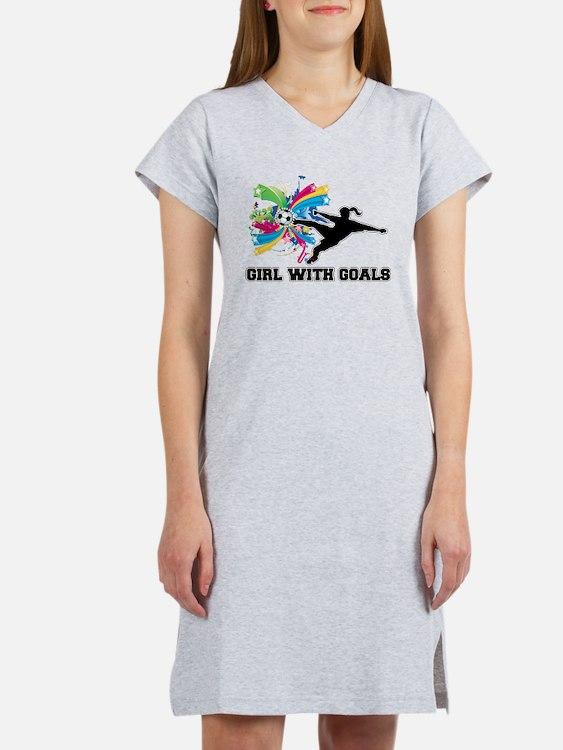 Girl with Goals Women's Nightshirt