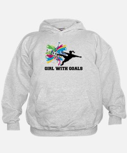 Girl with Goals Hoodie