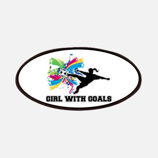 Girl with Goals Patches