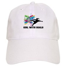 Girl with Goals Baseball Baseball Cap