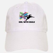 Girl with Goals Baseball Baseball Cap