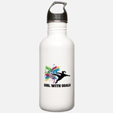 Girl with Goals Water Bottle