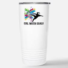 Girl with Goals Travel Mug