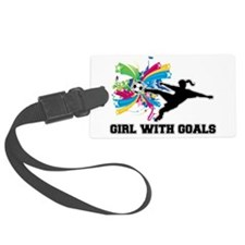 Girl with Goals Luggage Tag