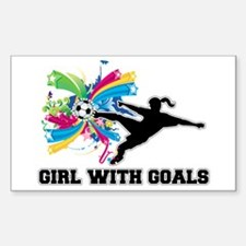 Girl with Goals Decal