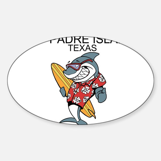 Padre Island, Texas Decal