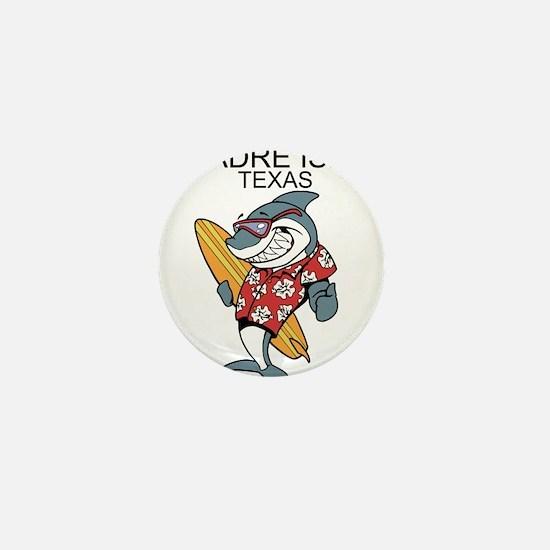 Padre Island, Texas Mini Button
