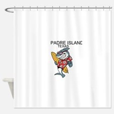 Padre Island, Texas Shower Curtain