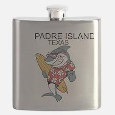 Padre Island, Texas Flask