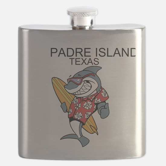 Padre Island, Texas Flask