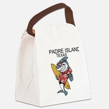 Padre Island, Texas Canvas Lunch Bag