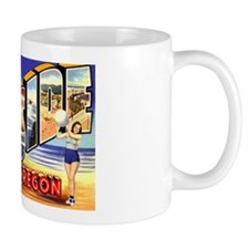 Seaside Oregon Greetings Mug