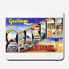 Seaside Oregon Greetings Mousepad