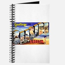 Seaside Oregon Greetings Journal