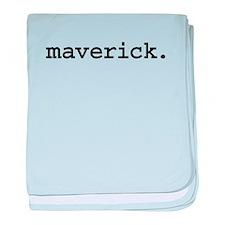 maverickblk.png baby blanket