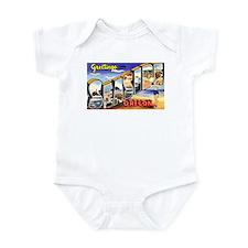 Seaside Oregon Greetings Infant Bodysuit
