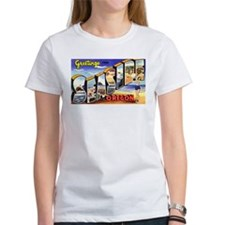 Seaside Oregon Greetings Tee