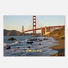 Golden Gate Bridge (label Postcards (Package of 8)