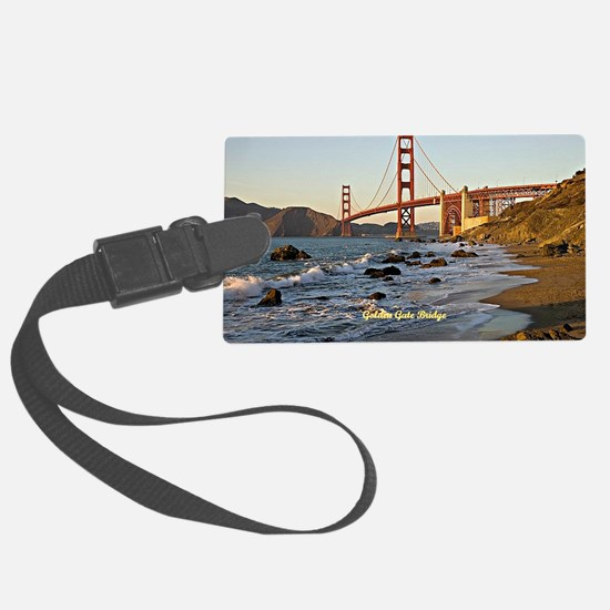 Golden Gate Bridge (labeled) Luggage Tag