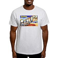 Seaside Oregon (Front) Ash Grey T-Shirt