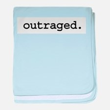 outraged.jpg baby blanket